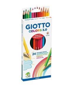 GIOTTO Colors 3.0 Creioane colorate set 24 culori