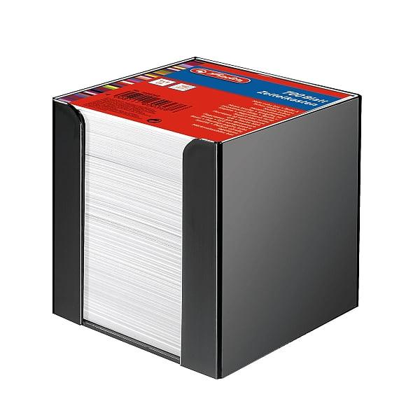Herlitz Cub hârtie alba 9x9cm 700 coli cu suport 1600360