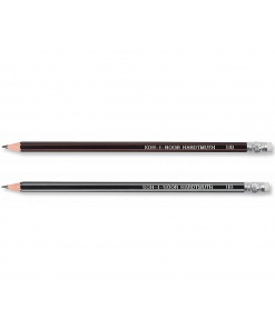 Koh I Noor - Creioane grafit HB cu guma flexibile