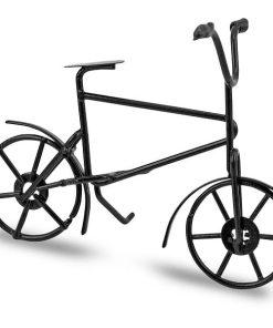 Meyco Bicicleta decor din metal Neagra 81121