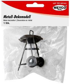 Meyco Mini Grill decorativ din metal 81123