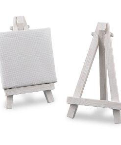 Meyco Mini Sevalet din lemn Alb 66890