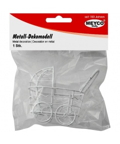 Meyco Mini carucior decorativ din metal 81126