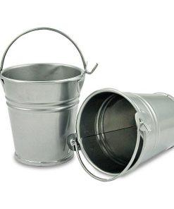 Meyco Mini galeata din metal set 2 bucati Argintii 34923 detalii
