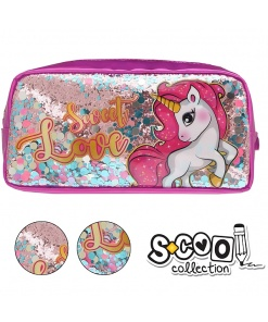 Penar S-Cool Collection cu paiete pentru fete Unicorn SC1024