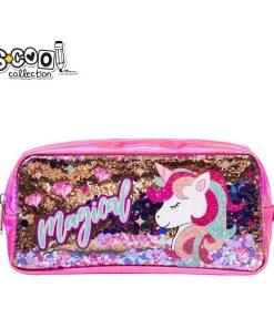 Penar S-Cool Collection cu paiete pentru fete Unicorn SC1354