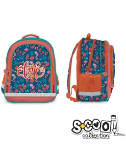 S-cool - Ghiozdan Backpack 38cm Love SC1028