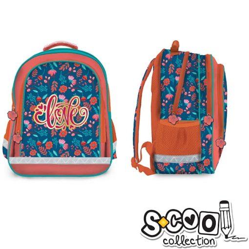 S-cool - Ghiozdan Backpack 38cm Love SC1028