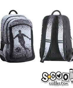 S-cool - Ghiozdan Backpack 43cm Fotbal SC1072