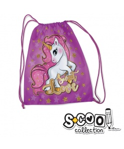 S-cool - Sac Sport pentru fete SC990 Unicorn