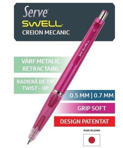 Serve Creion Mecanic Swell culori metalizate