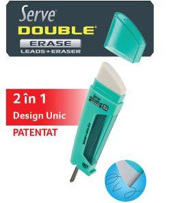 Serve Double Erase Mine creion 2B + Radiera