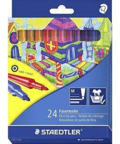 Staedtler - Carioci colorate 325 C24 set 24 culori