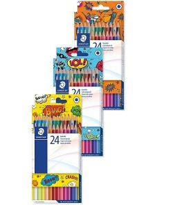 Staedtler - Creioane colorate Comic 175 24 culori