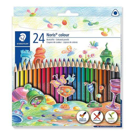 Staedtler - Noris creioane colorate 187 24 culori