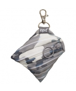 ZipIt - Portofel monezi Camouflage Gri