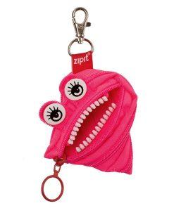 ZipIt - Portofel monezi Monster roz neon