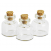Mini butelie sticla 22 x 25 mm Meyco 63454