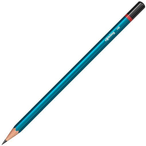Rotring Creioane grafit HB Lacuit Albastru