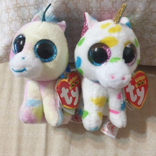 Unicornul Harmonie cu breloc TY 35211 Beanie Boos