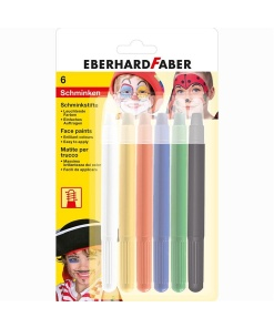 Eberhard Faber Set pictura pe fata creioane retractabile 6 culori