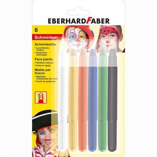 Eberhard Faber Set pictura pe fata creioane retractabile 6 culori