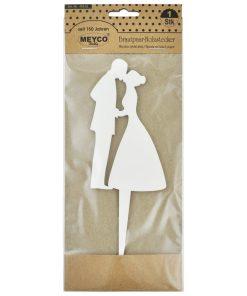 Meyco Cuplu de miri decoratiune din lemn 405-63