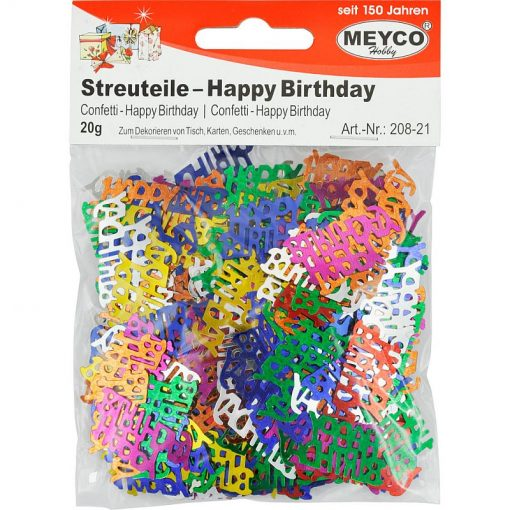 Meyco Decoratiuni Confetti Happy Birthday 208-21