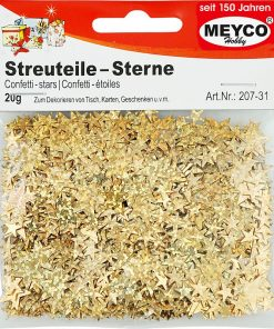 Meyco Decoratiuni Confetti Stele Aurii 207-31