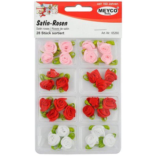 Meyco Set Trandafiri din satin 65260