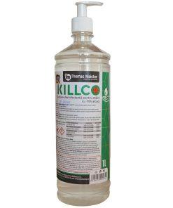 Dezinfectant Killco pentru maini cu pompita 1L