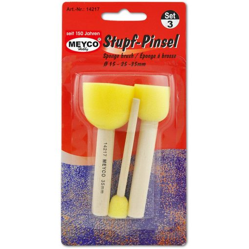 Meyco Pensule burete pentru pictura - rotunde14217