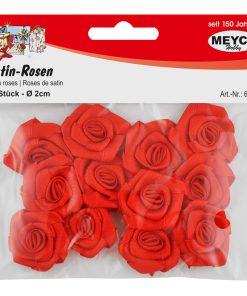 Meyco Trandafiri din satin 12 buc culoare rosu 65262