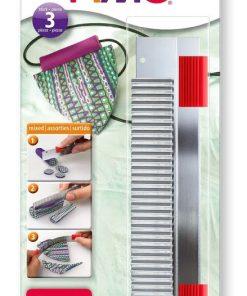 Staedtler - Set 3 lame diferite otel pentru modelaj Fimo