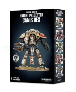 Warhammer 40.000 Imperial Knights Knight Preceptor Canis Rex