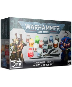 Warhammer 40,000 Paints + Tools