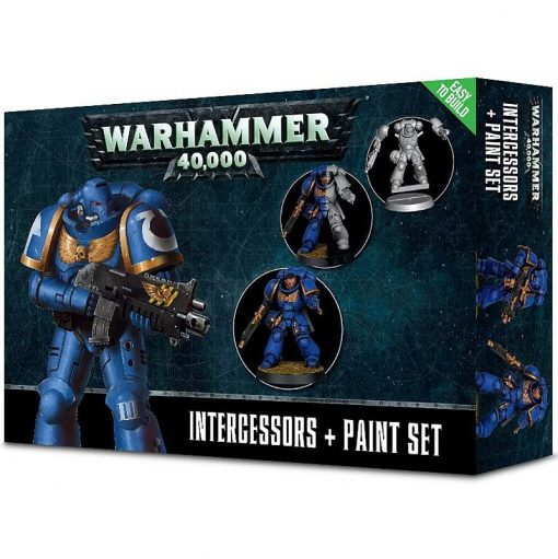 Warhammer Intercessors + Paint set