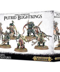 Warhammer Maggotkin of Nurgle Putrid Blightkings
