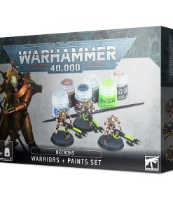 Warhammer Necrons Warriors + Paint set