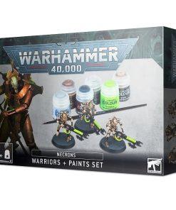 Warhammer Necrons Warriors + Paint set
