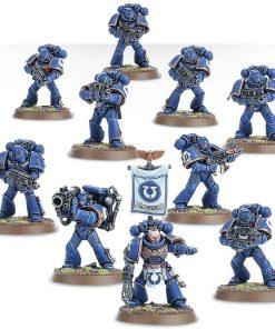 Warhammer Space Marine Tactical Squad miniaturi