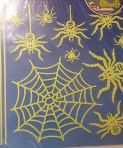 Decoratiune de perete Paianjeni fluorescenti 10047