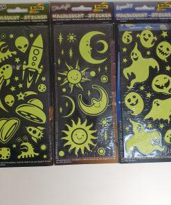 Decoratiuni Halloween fosforescente Folia