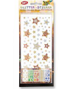 Folia Glitter Sticker Motive Crăciun nr. 1452