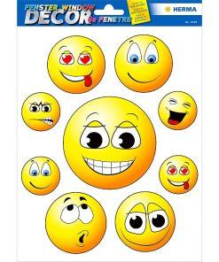 Herma - Autocolant pentru geam Happy Faces 15105