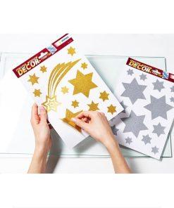 Herma Sticker pentru geam motive de Crăciun 21x27cm