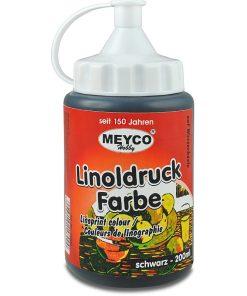 Meyco Culoare pentru Linogravura Negru 14800