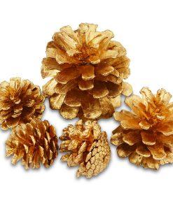 Meyco Decoratiuni Craciun Conuri de brad Aurii