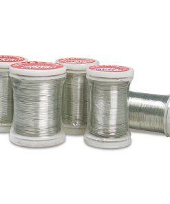 Meyco Sarma bobinata ø 0.30mm Argintie 28112