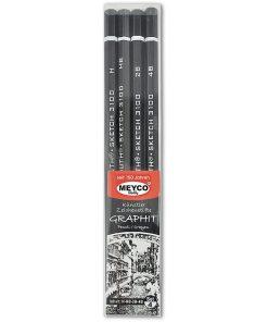 Meyco Set 4 Creioane grafit 14259